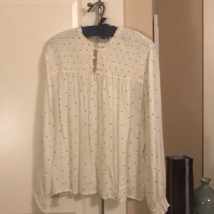 Lucky Brand Tops - Lucky Brand off white tunic